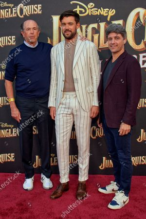 John Davis, Jack whitehall  and John Fox