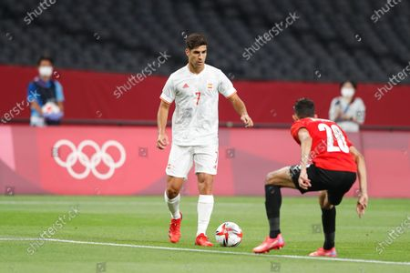 Marco Asensio (ESP) - Football / Soccer : Tokyo 2020 Olympic Games Men's football 1st round group C match between Egypt 0-0 Spain at the Sapporo Dome in Sapporo, Japan.