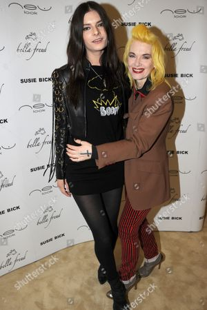 Stock Image of Sophie Jaggard Willing and Pam Hogg