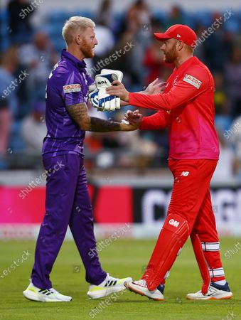 Editorial photo of Northern Superchargers v Welsh Fire, The Hundred, Cricket, Emerald Headingley, Leeds, UK - 24 July 2021