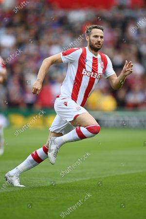 Stock Image of Nick Powell of Stoke City.