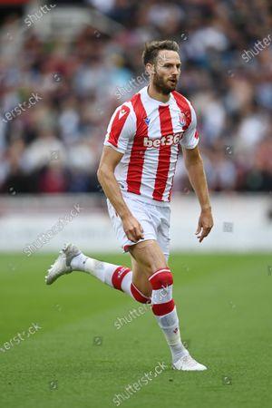Stock Photo of Nick Powell of Stoke City.