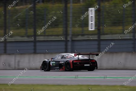 EUROSPEEDWAY LAUSITZ, GERMANY - JULY 23: Mike Rockenfeller, Abt Sportsline Audi R8 LMS GT3 at EuroSpeedway Lausitz on Friday July 23, 2021 in Brandenburg, Germany. (Photo by Alexander Trienitz / LAT Images)
