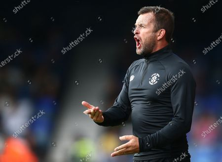 Editorial picture of Luton Town v Portsmouth, Pre-season Friendly, Football, Kenilworth Road, Luton, UK - 24 July 2021