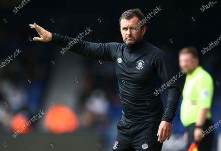 Stock Image of Nathan Jones manager of Luton Town