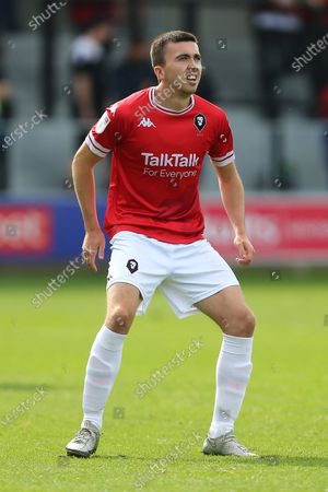 Stock Picture of Luke Burgess of Salford City