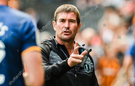 Manager Nigel Clough of Mansfield Town