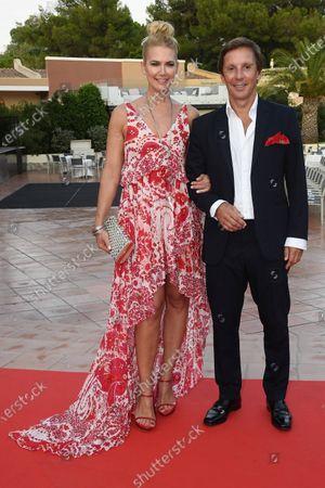 Valeria Mazza and Alejandro Gravier