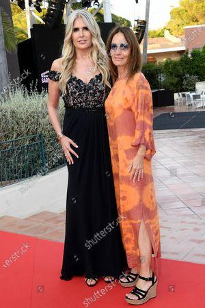 Stock Picture of Tiziana Rocca and Maria Sole Tognazzi