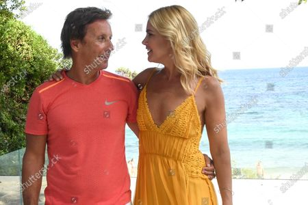 Valeria Mazza and her husband Alejandro Gravier