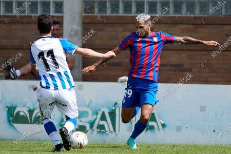 Editorial picture of Real Sociedad CF B v SD Eibar, Friendly football match, Estadio Asti Kirol Instalakuntzak, Zarautz, Spain - 24 Jul 2021