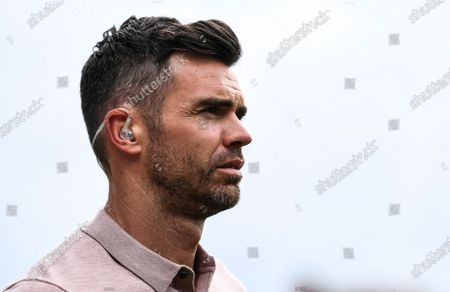 James Anderson working for BBC Sport