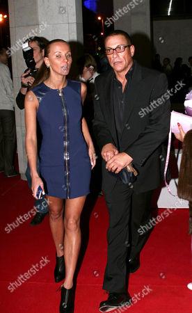 Alena Kaverina and Jean-Claude Van Damme