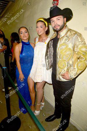 Becky G, Becky G, Angela Aguilar and Leonardo Aguilar