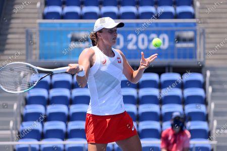 Editorial photo of Tokyo 2020 Olympic Games - Tennis, Japan - 24 Jul 2021