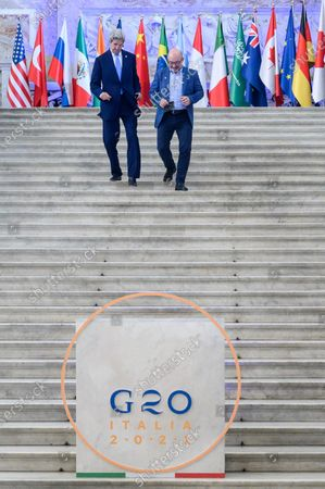 Editorial picture of G20 Energy and Climate Joint Ministerial Meeting in Napoli, Italy - 23 Jul 2021