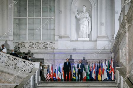 Editorial photo of G20 Energy and Climate Joint Ministerial Meeting in Napoli, Italy - 23 Jul 2021
