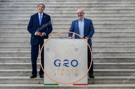 Editorial image of G20 Energy and Climate Joint Ministerial Meeting in Napoli, Italy - 23 Jul 2021