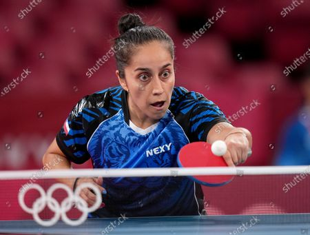 Editorial photo of Olympic Games 2020 Table Tennis, Tokyo, Japan - 24 Jul 2021