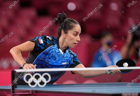 Editorial image of Olympic Games 2020 Table Tennis, Tokyo, Japan - 24 Jul 2021