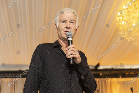 Stock Image of John McEnroe attends Arts for All Gala - Festival Napa Valley 2021 on July 18th 2021 at Nickel & Nickel in Oakville