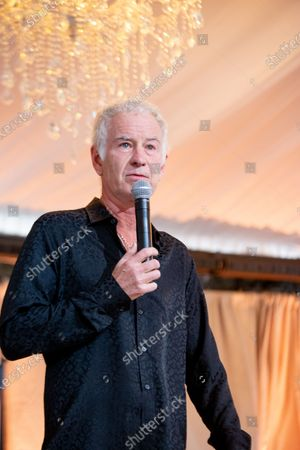 Stock Photo of John McEnroe attends Arts for All Gala - Festival Napa Valley 2021 on July 18th 2021 at Nickel & Nickel in Oakville