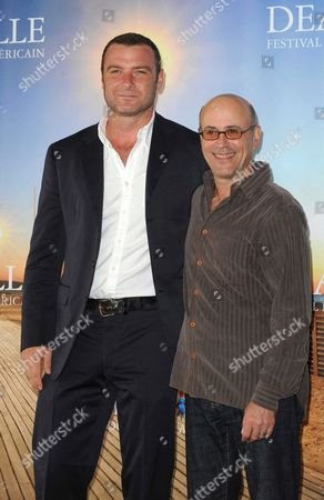 Stock Picture of Liev Schreiber and Richard Levine