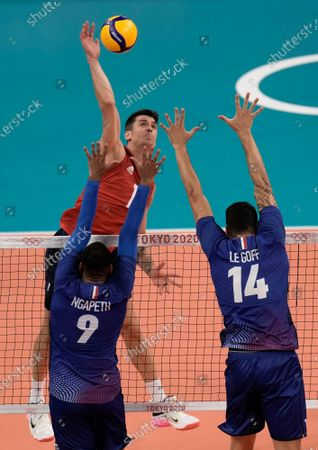 Editorial image of Olympics Volleyball, Tokyo, Japan - 24 Jul 2021