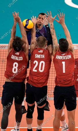 Editorial picture of Olympics Volleyball, Tokyo, Japan - 24 Jul 2021