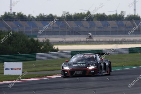Stock Image of EUROSPEEDWAY LAUSITZ, GERMANY - JULY 24: Mike Rockenfeller, Abt Sportsline Audi R8 LMS GT3 at EuroSpeedway Lausitz on Saturday July 24, 2021 in Brandenburg, Germany. (Photo by Alexander Trienitz / LAT Images)