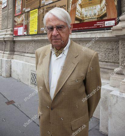 Editorial photo of Cristobal Halffter, Vienna, Austria - 03 Sep 2010