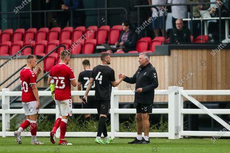 Editorial picture of Bristol City v MK Dons, UK - 24 Jul 2021