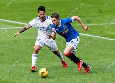 Editorial picture of Rangers v Real Madrid, Pre-season Friendly, Football, Ibrox Stadium, Glasgow, UK - 25 July 2021
