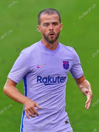 Miralem Pjanic of FC Barcelona