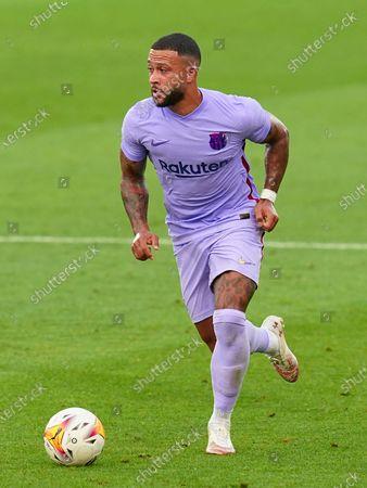 Memphis Depay of FC Barcelona