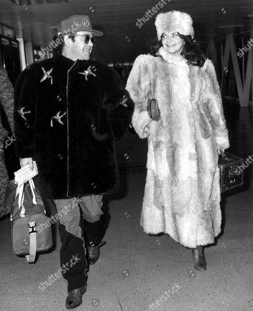 Elton John and Wife Renate Blauel