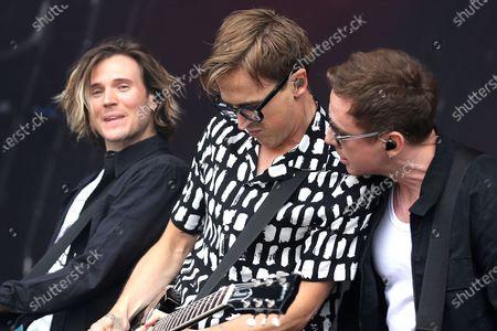 McFly - Dougie Poynter, Tom Fletcher and Danny Jones