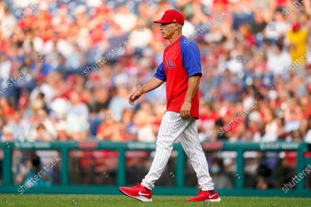 Editorial picture of Braves Phillies Baseball, Philadelphia, United States - 24 Jul 2021