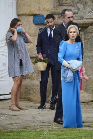 Editorial photo of Wedding of Marco Juncadella and Lucia Barcena, Pazo de Oca, Estrada, Spain - 24 Jul 2021
