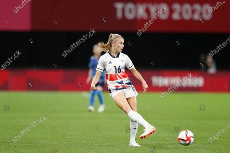 Millie Bright (GBR) - Football / Soccer : Tokyo 2020 Olympic Games Women's football 1st round group E match between Japan 0-1 Greate Britain at the Sapporo Dome in Sapporo, Japan.