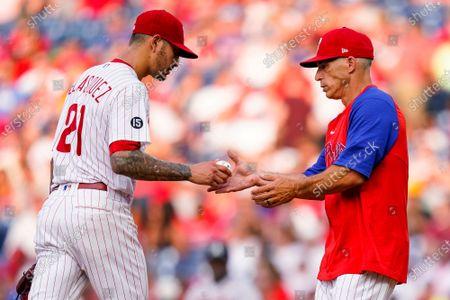 Editorial image of Braves Phillies Baseball, Philadelphia, United States - 24 Jul 2021