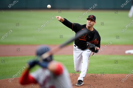 Editorial photo of Nationals Orioles Baseball, Baltimore, United States - 24 Jul 2021