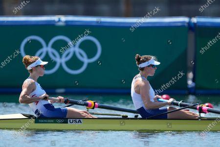 Editorial photo of Olympics Rowing, Tokyo, Japan - 25 Jul 2021
