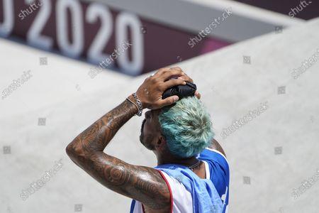 Editorial image of Olympics Skateboarding, Tokyo, Japan - 25 Jul 2021