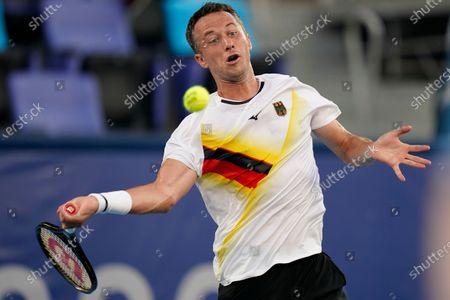 Editorial image of Olympics Tennis, Tokyo, Japan - 25 Jul 2021