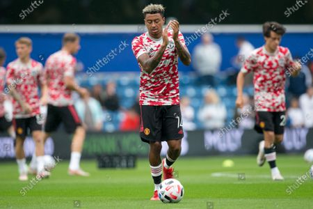 Jesse Lingard of Manchester United looks on during the Pre-season Friendly match between Queens Park Rangers and Manchester United at the Kiyan Prince Foundation Stadium., London, England on 24th July 2021.