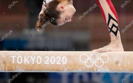 Editorial picture of Olympic Games 2020 Artistic Gymnastics, Tokyo, Japan - 25 Jul 2021