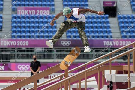 Editorial photo of Olympic Games 2020 Skateboarding, Tokyo, Japan - 25 Jul 2021