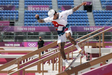 Editorial image of Olympic Games 2020 Skateboarding, Tokyo, Japan - 25 Jul 2021