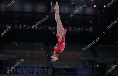 Editorial picture of Gymnastics - Artistic  - Olympics: Day 2, Tokyo, Japan - 25 Jul 2021